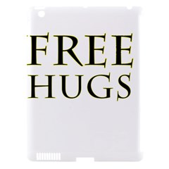 Freehugs Apple Ipad 3/4 Hardshell Case (compatible With Smart Cover) by cypryanus