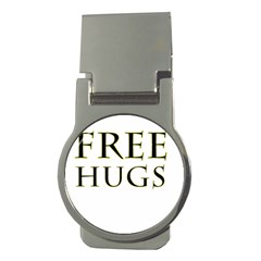 Freehugs Money Clips (round)  by cypryanus