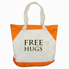 Freehugs Accent Tote Bag by cypryanus