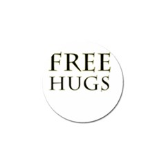 Freehugs Golf Ball Marker (4 Pack) by cypryanus