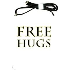 Freehugs Shoulder Sling Bags by cypryanus