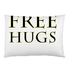 Freehugs Pillow Case (two Sides) by cypryanus