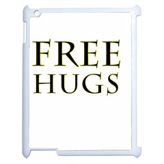 Freehugs Apple Ipad 2 Case (white) by cypryanus