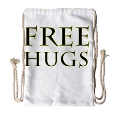 Freehugs Drawstring Bag (large)