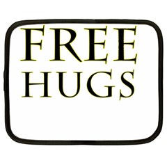 Freehugs Netbook Case (xl)  by cypryanus