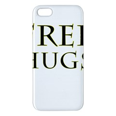 Freehugs Apple Iphone 5 Premium Hardshell Case by cypryanus