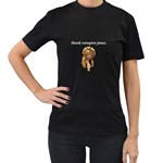 Vampire Jesus - Women s T-Shirt (Black)