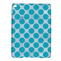 Circles2 White Marble & Turquoise Colored Pencil (r)encil (r) Ipad Air 2 Hardshell Cases by trendistuff