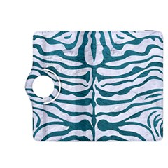 Skin2 White Marble & Teal Leather (r) Kindle Fire Hdx 8 9  Flip 360 Case by trendistuff