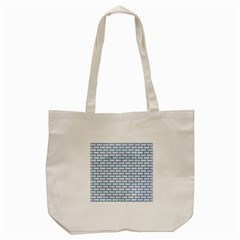 Brick1 White Marble & Teal Leather (r) Tote Bag (cream) by trendistuff