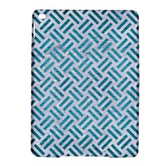 Woven2 White Marble & Teal Brushed Metal (r) Ipad Air 2 Hardshell Cases by trendistuff