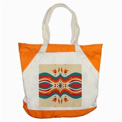 Symmetric Distorted Shapes                              Accent Tote Bag by LalyLauraFLM