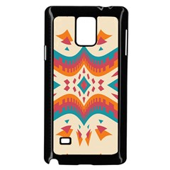 Symmetric Distorted Shapes                        Samsung Galaxy Note 4 Case (color) by LalyLauraFLM