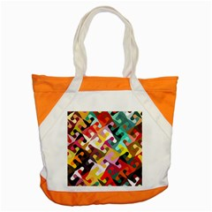 Colorful Shapes                               Accent Tote Bag by LalyLauraFLM