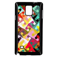 Colorful Shapes                         Samsung Galaxy Note 4 Case (color) by LalyLauraFLM