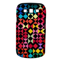 Colorful Rhombus And Triangles                          Samsung Galaxy S Ii I9100 Hardshell Case (pc+silicone) by LalyLauraFLM