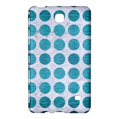 Circles1 White Marble & Teal Brushed Metal (r) Samsung Galaxy Tab 4 (8 ) Hardshell Case  by trendistuff