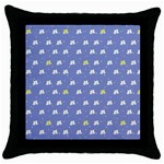 xmas0050 Throw Pillow Case (Black)