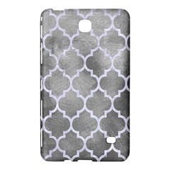 Tile1 White Marble & Silver Paint Samsung Galaxy Tab 4 (8 ) Hardshell Case  by trendistuff