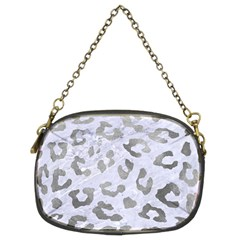 Skin5 White Marble & Silver Paint Chain Purses (two Sides)  by trendistuff