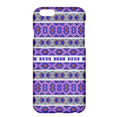 Vintage Striped Ornate Pattern Apple Iphone 6 Plus/6s Plus Hardshell Case by dflcprints