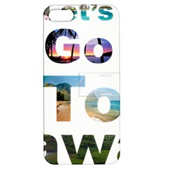 Hawaii Apple Iphone 5 Hardshell Case With Stand