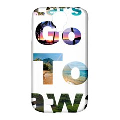 Hawaii Samsung Galaxy S4 Classic Hardshell Case (pc+silicone) by Howtobead