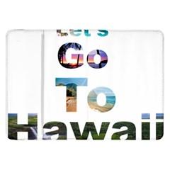 Hawaii Samsung Galaxy Tab 8 9  P7300 Flip Case by Howtobead