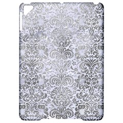 Damask2 White Marble & Silver Paint (r) Apple Ipad Pro 9 7   Hardshell Case by trendistuff