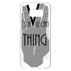 It s A Vulcan Thing Samsung Galaxy S8 Plus White Seamless Case by Howtobead