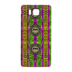Sunset Love In The Rainbow Decorative Samsung Galaxy Alpha Hardshell Back Case by pepitasart