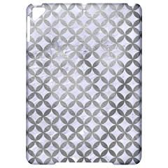 Circles3 White Marble & Silver Paint (r) Apple Ipad Pro 9 7   Hardshell Case by trendistuff