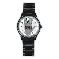 It s A Vulcan Thing Stainless Steel Round Watch by Howtobead