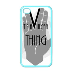 It s A Vulcan Thing Apple Iphone 4 Case (color) by Howtobead