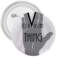 Vulcan Thing 3  Buttons by Howtobead