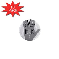 Vulcan Thing 1  Mini Magnet (10 Pack)  by Howtobead