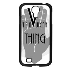Vulcan Thing Samsung Galaxy S4 I9500/ I9505 Case (black) by Howtobead