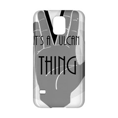 Vulcan Thing Samsung Galaxy S5 Hardshell Case  by Howtobead