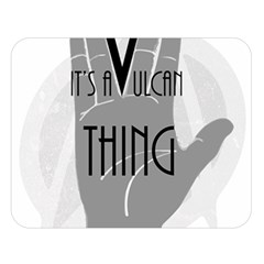 Vulcan Thing Double Sided Flano Blanket (large)