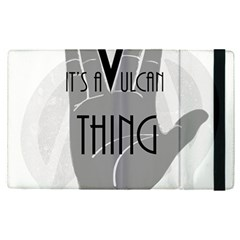 Vulcan Thing Apple Ipad Pro 12 9   Flip Case