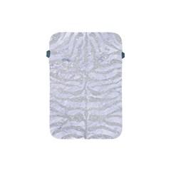 Skin2 White Marble & Silver Glitter (r) Apple Ipad Mini Protective Soft Cases by trendistuff