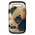 Pouty Pug case Samsung Galaxy S III Hardshell Case (PC+Silicone)