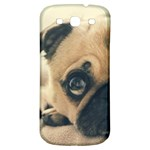 Pouty Pug case Samsung Galaxy S3 S III Classic Hardshell Back Case