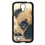 Pouty Pug case Samsung Galaxy S4 I9500/ I9505 Case (Black)
