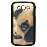 Pouty Pug case Samsung Galaxy Grand DUOS I9082 Case (Black)