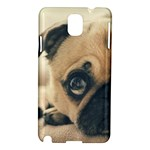 Pouty Pug case Samsung Galaxy Note 3 N9005 Hardshell Case