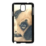Pouty Pug case Samsung Galaxy Note 3 Neo Hardshell Case (Black)