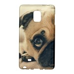 Pouty Pug case Galaxy Note Edge