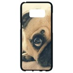 Pouty Pug case Samsung Galaxy S8 Black Seamless Case