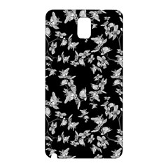 Dark Orquideas Floral Pattern Print Samsung Galaxy Note 3 N9005 Hardshell Back Case by dflcprints